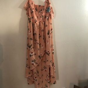 Forever21 Plus Maxi dress with sleeves
